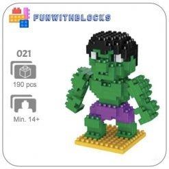Miniblock Marvel Hulk