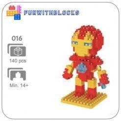 Miniblock Marvel Iron Man