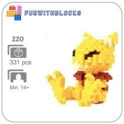 Miniblock Pokémon Abra