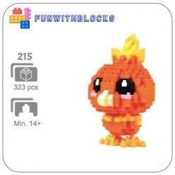 Miniblock Pokémon Torchic