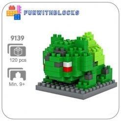Miniblock bulbasaur klein - 120 minibricks