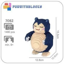 LBOYU Snorlax - 1480 miniblocks