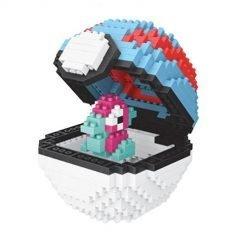 Pokeball Porygon miniblocks